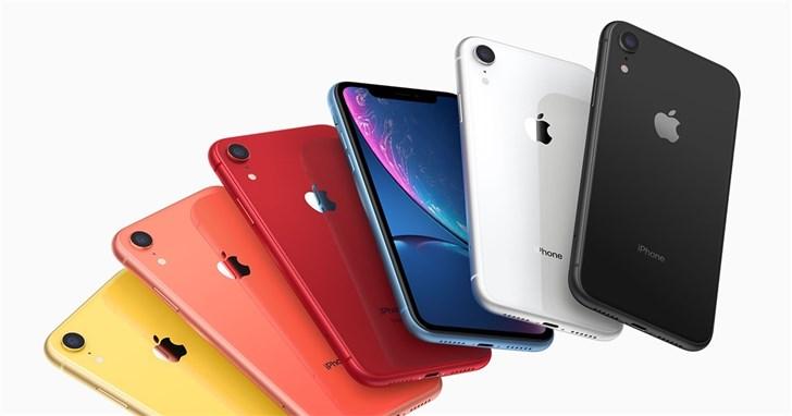 IHS Market:苹果iPhone XR成2019上半年最畅销智能手机