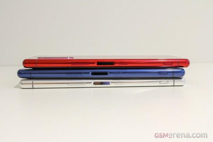 外媒:索尼Xperia 5真机上手图