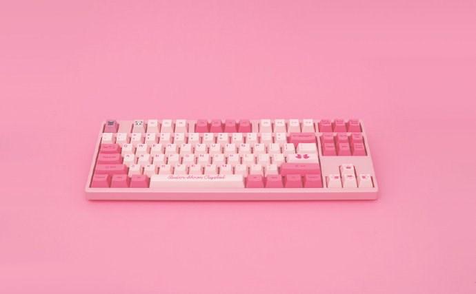 Akko艾酷展示《美少女战士》主题机械键盘