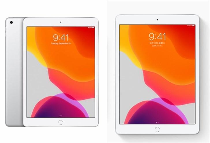 苹果第六、七代iPad参数对比:iPad 7屏幕更大更亮