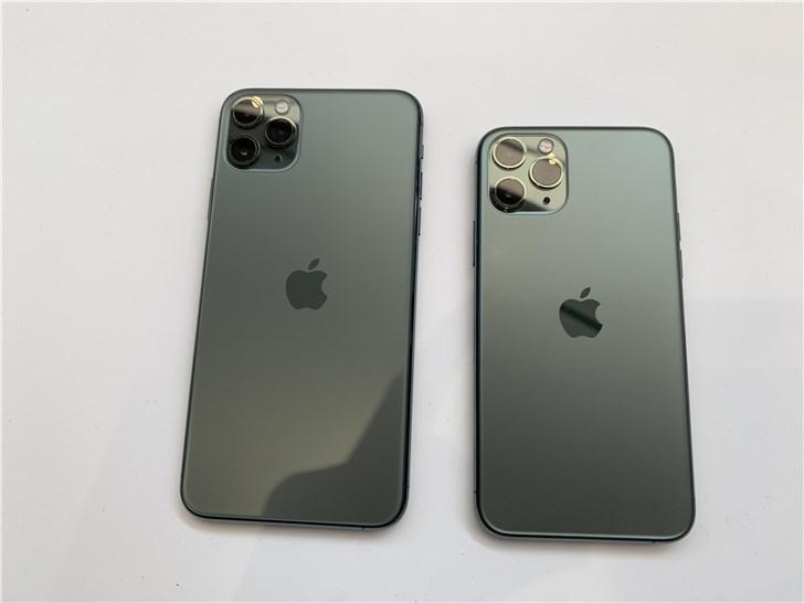 苹果iPhone 11系列手机内存实锤:全系4G*