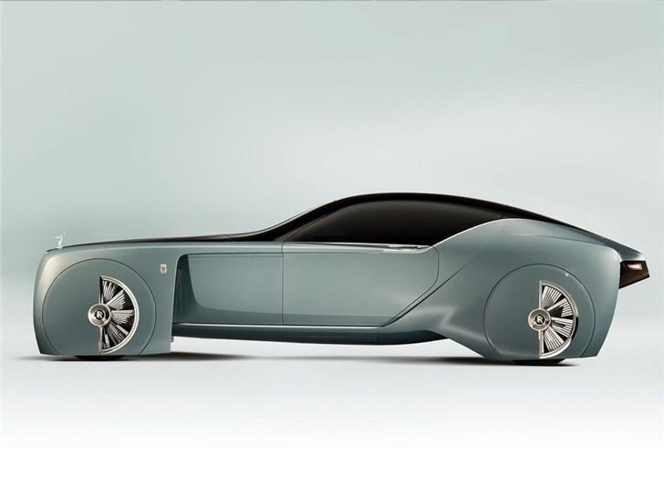劳斯莱斯推出103EX纯电动车 没有方向盘+可以站着上下车