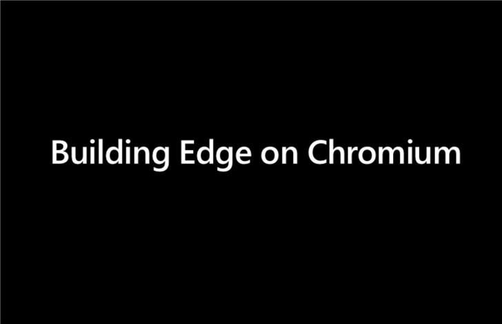 微软建议为Chromium浏览器触摸滚动添加类似Windows的滑动动作
