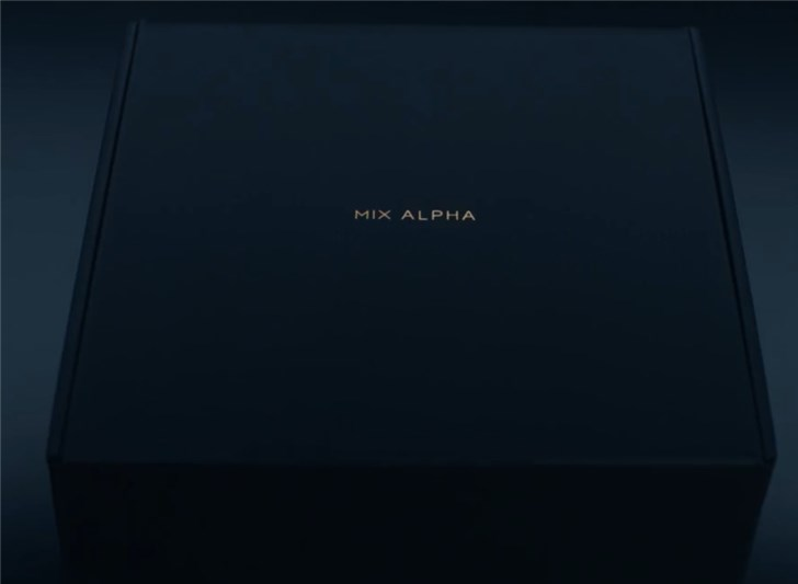 官方公布小米MIX Alpha开箱视频:包装精致,附赠