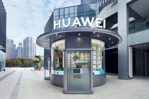 华为首个智能无人售货店今日开业:机械臂24小时