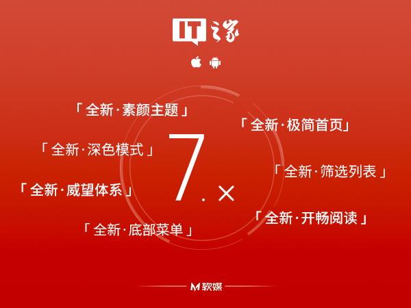 IT之家 iOS/安卓版 7.02 更新:层主大人吉祥