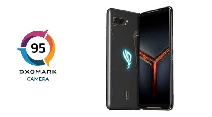 华硕ROG游戏手机 2 DXOMARK评分公布:95分,超iPhone 8 Plus