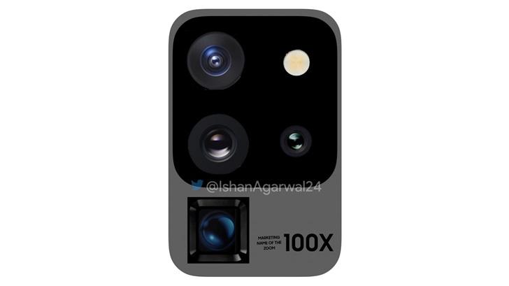 三星Galaxy S20 Ultra 5G最新相机图像曝光:潜望式摄