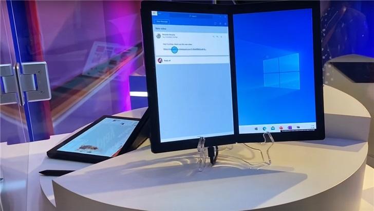 再看微软Windows 10X:突出手势操作体验,旧版应用支持更好