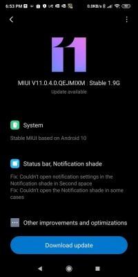 小米Pocophone F1稳定版Android 10更新推出}