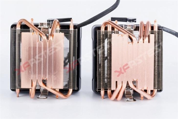 "AMD 锐龙原装""幽灵棱镜""散热器升级,4热管变6热管"
