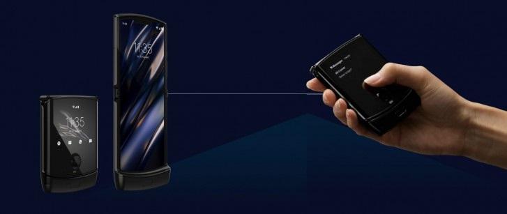 摩托罗拉正研发可折叠手机Razr 2019的5G版本