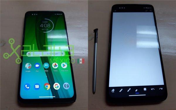 Moto G Stylus真机泄露:手写笔是亮点