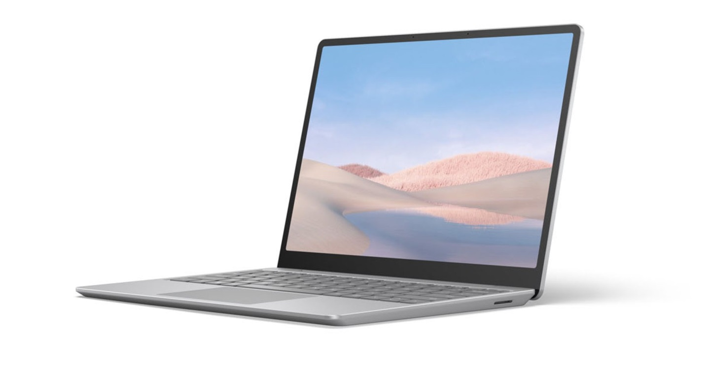 微软 Surface Laptop Go / Surface Pro X2 外观曝光