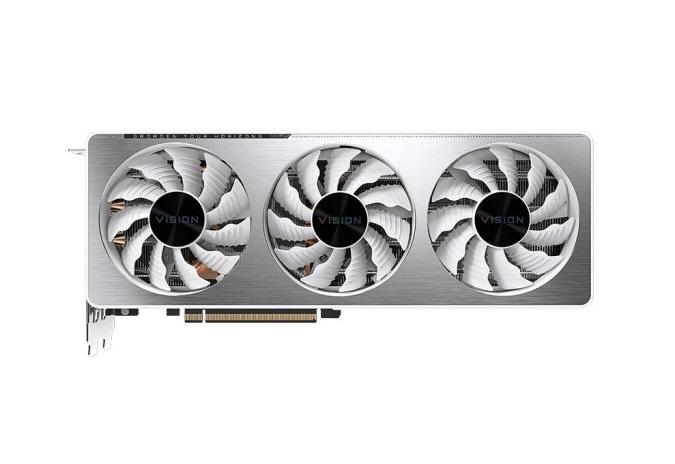 技嘉推出 RTX 3070 VISION 雪鹰:银白色高颜值,4999 元