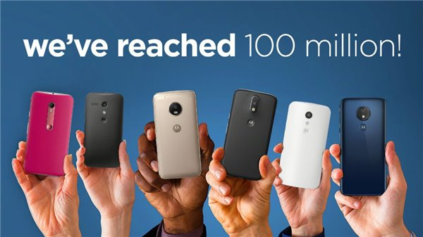Moto G系列手机里程碑!摩托罗拉已售出超过1亿部