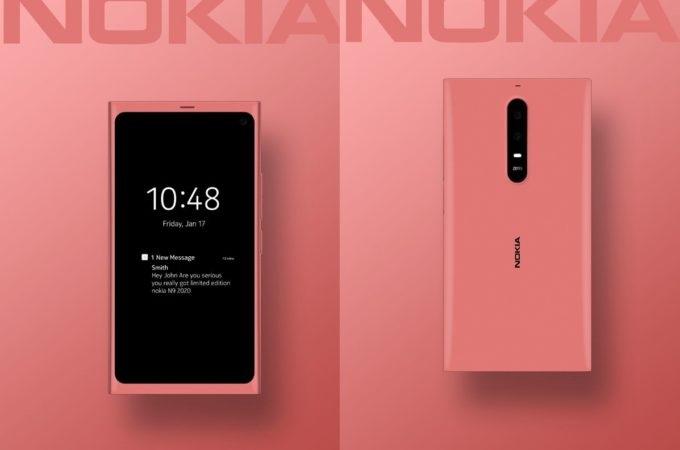 Meego变安卓,诺基亚 N9 (2020) 5G概念手机亮相,你期待吗?