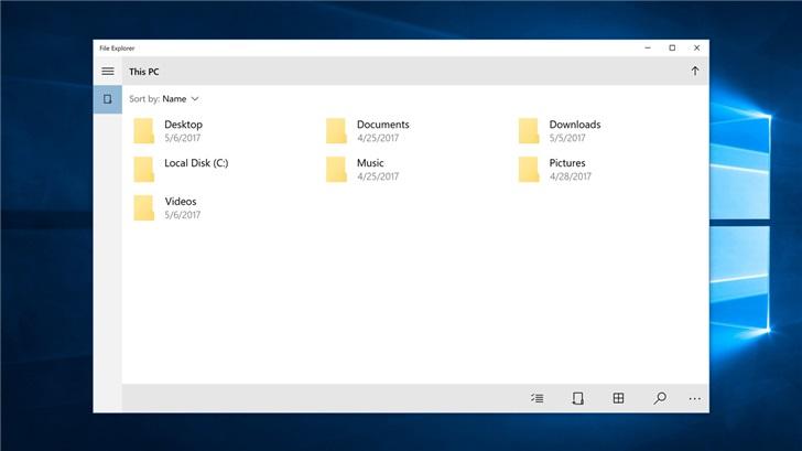 微软 Windows 10X 默认使用 UWP 文件资源管理器