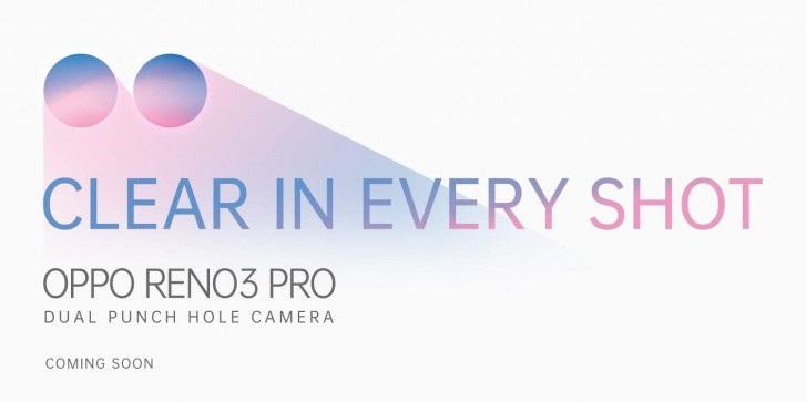 OPPO Reno3 Pro的双孔前置版本上线促销页面 搭载Snapdragon 765G芯片