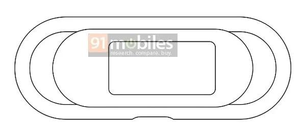 OPPO智能手环专利曝光,与众不同的外观设计