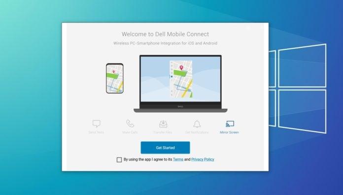 操控安卓/iPhone手机,任意Win10 PC可安装Dell Mobile Connect