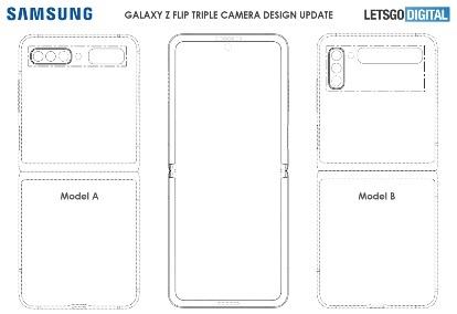 神似Galaxy Z Flip,后置三摄!三星最新手机外观专利曝光