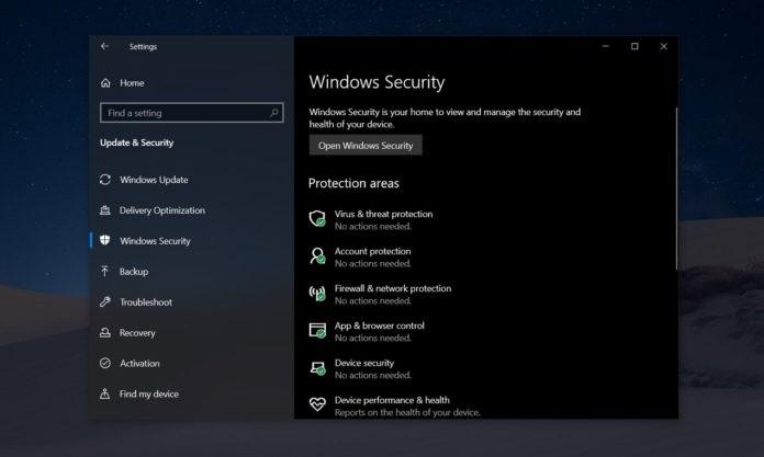 微软:Windows 安全中心问题阻止 Win10 版本 2004 更新