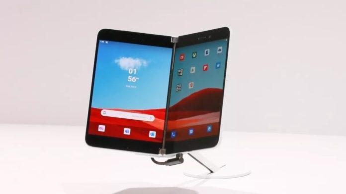 微软正为 Surface Duo 折叠屏开发安卓 11 系统