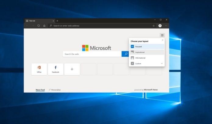 微软通过Win10  Update向用户推送Edge浏览器 新功能: CPU 性能优化