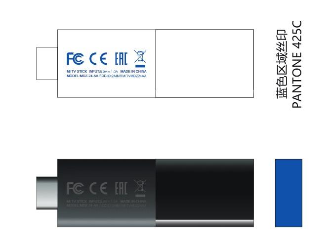 小米电视棒通过 FCC 认证,只需 5V1A 供电