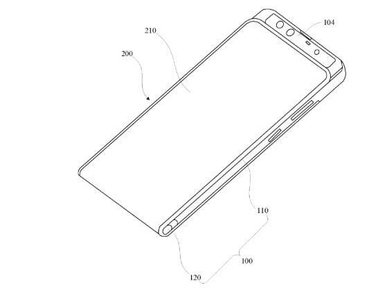 小米专利显示其正在研制另一款柔性屏机型:可缩可滑可隐藏