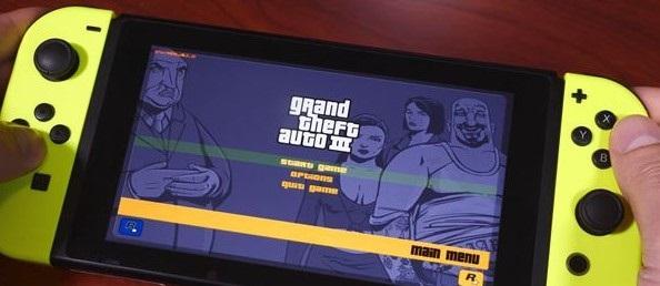 国外大神成功将《GTA 3》移植到任天堂 Switch