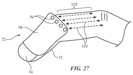 苹果申请 AR/VR 设备专利:手指套设计,集成多种传感器