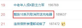 """魅族 18 系列取消附送充电器冲上热搜,称""""为环境减负"""""""