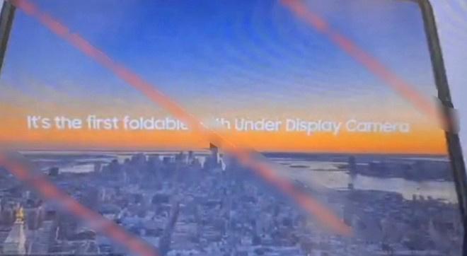 三星新款 Galaxy Z Fold 3/Z Flip 3 谍照曝光:屏下摄像头,没有采用三折屏