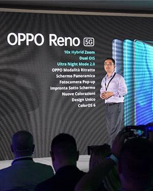 OPPO Reno 5G版本意大利正式发布