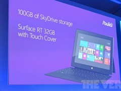BUILD2012与会者获赠:Surface RT+Lumia920等
