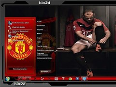 【Win7主题包下载】Manchester United 红魔之舞