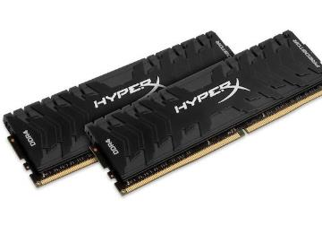 金士顿发布新款高频骇客神条:最高DDR4-4600,16GB套条约4000元