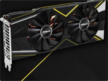 华擎公布首款非公RX 5700系列显卡:双风扇/四热管,有背板
