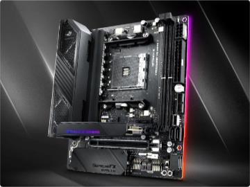 华硕Crosshair VIII Impact主板达成AMD平台内存超频记录——5856MHz