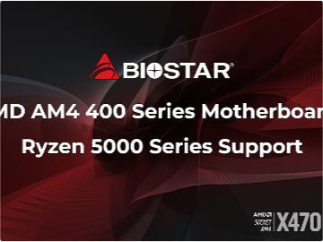 映泰宣布 400 系列主板将支持锐龙 5000 系列乘那人没反应过来之际处理器