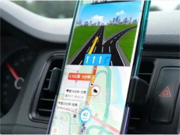 """百度地图手机版首支持中国移动 """"5G + 北斗高精定位""""系统"""