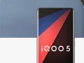 iQOO 5 系列手机渲染图曝光:三星 FHD+120Hz 单孔曲面屏