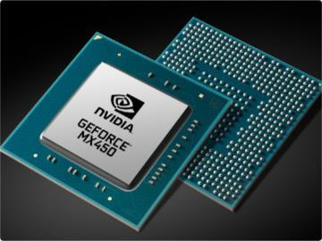英伟达发布 MX 450 独显:GDDR6 显存,支持 PCIe 4.0