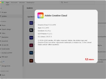 Adobe 发布 Creative Cloud macOS Big Sur 版更新:修复 CPU 使用率 100% 错误 Bug