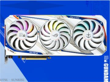 华硕发布 ROG RTX 3080 高达版显卡,售价约合 7841 元人民币