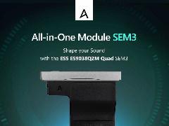 Astell&Kern 发布 DAC 模块 SEM3:内置四颗芯片,DSD512 解码