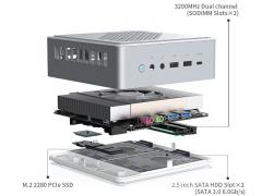 Minisforum 推出 HM90 迷你主机:3211 元起,AMD R9-4900H 处理器