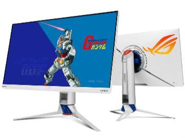 華碩發布 ROG Strix XG279Q-G  高達聯名電競顯示器:170Hz 刷新率